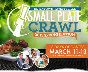 Small Plate Crawl @ Downtown Fayetteville